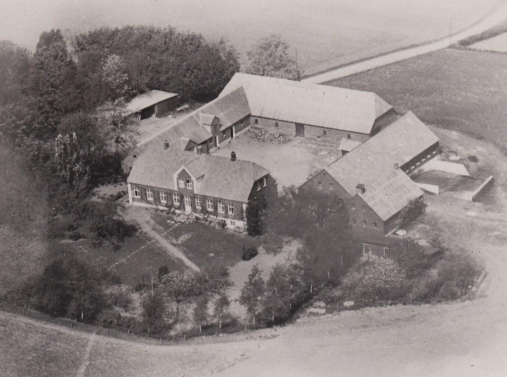 Luftfoto af Haugelund