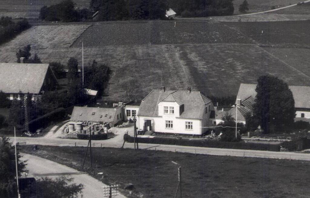 Luftfoto af Holmdalsvej 1